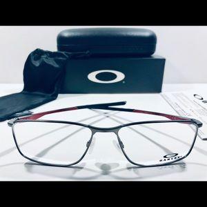 Oakley Eyeglasses Socket 5.0 Brushed Chrome Metal